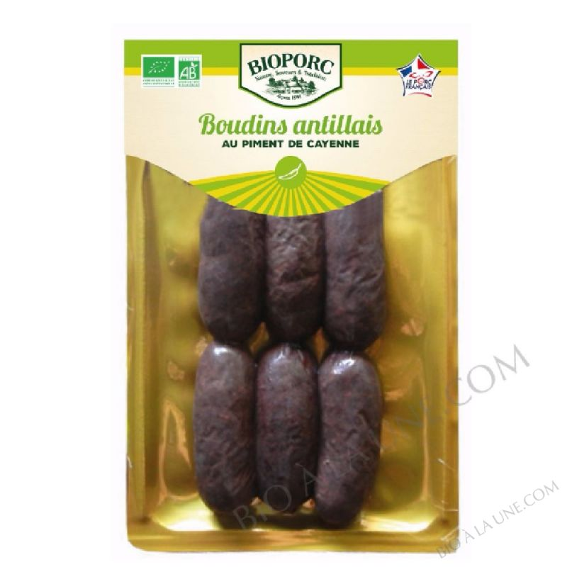 Mini boudins noirs antillais - 300 g