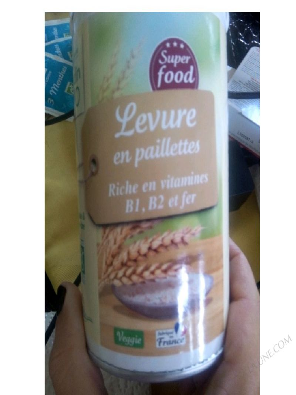 Levure en paillettes bio riche en vitamines b1 b2 et - Produit riche en fer ...