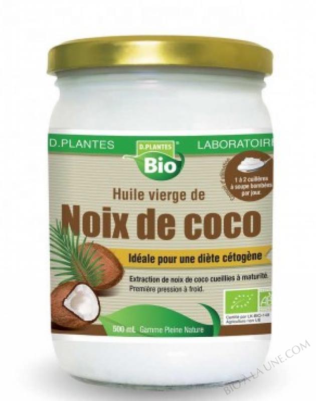huile de noix coco bio