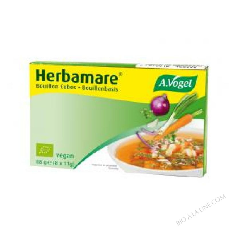 BOUILLON HERBAMARE CUBES 88G