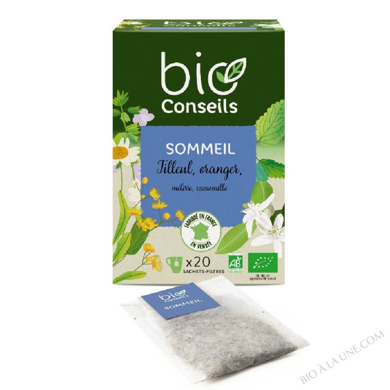 Infusion Sommeil Bio 20 sachets