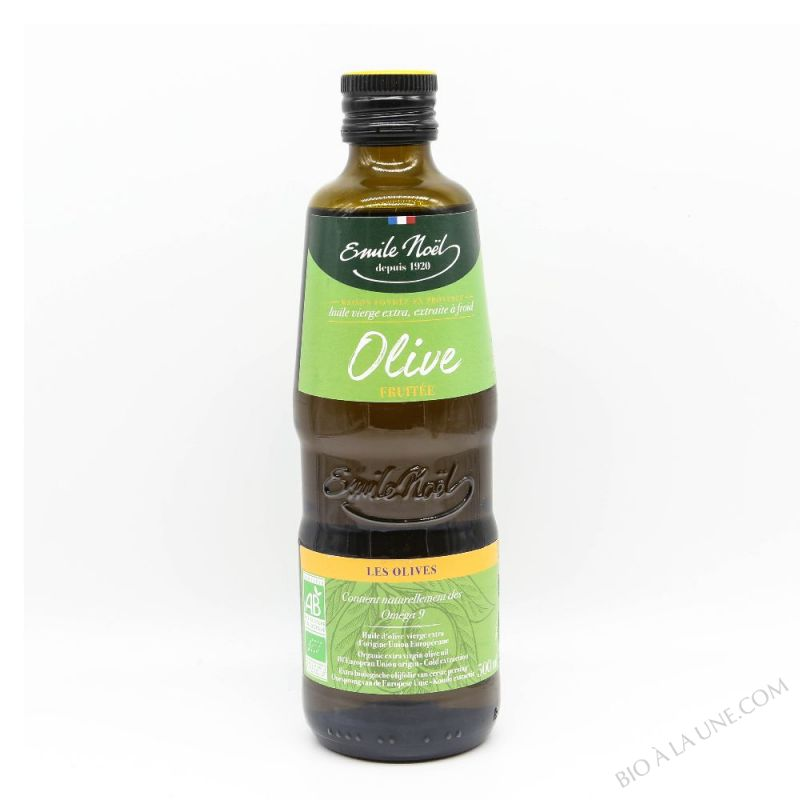 Huile d'Olive Vierge Extra Fruitee Bio 50cl