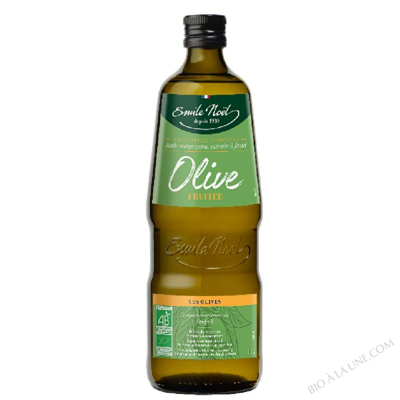 Huile d'Olive Vierge Extra Fruitee Bio 1L