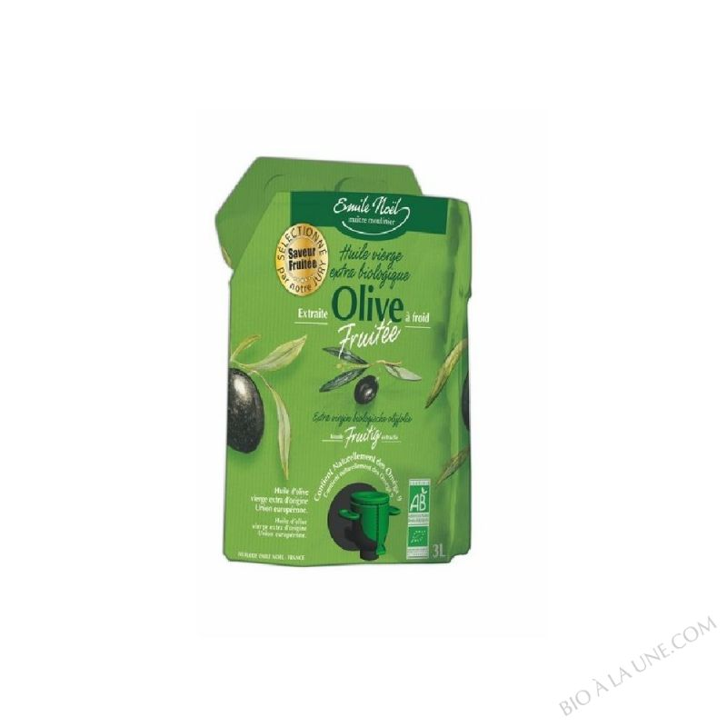 Huile d'Olive Vierge Extra Fruitee Bio 3L