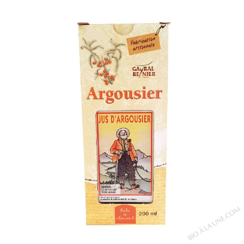 JUS ARGOUSIER 200ML GAYRAL