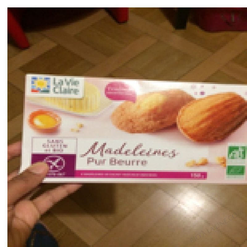 MADELEINES PUR BEURRE - 150 G