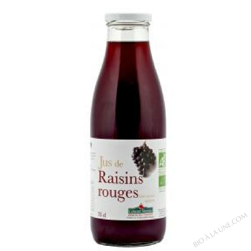 Jus raisins rouges Bio 75cl