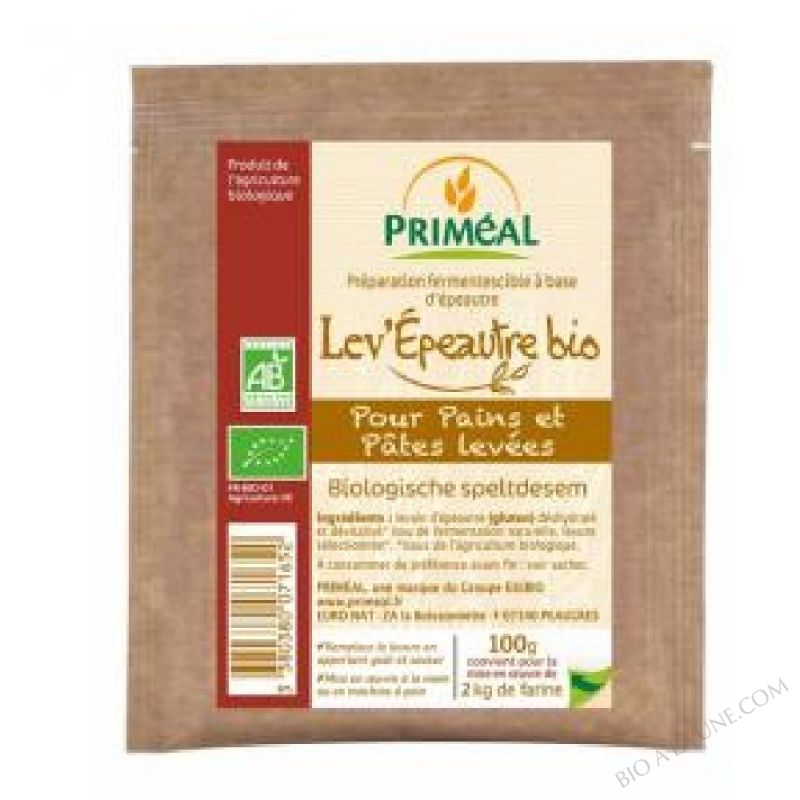 Preparation fermentescible Lev'Epeautre BIO 100g