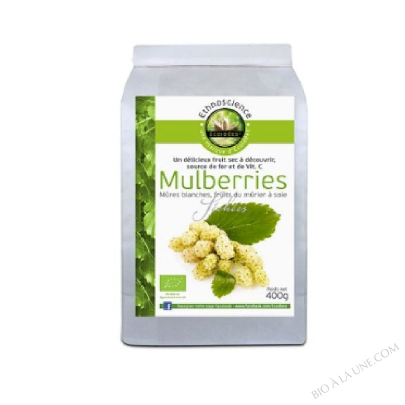MULBERRIES SECHEES 400G ECOIDÉES