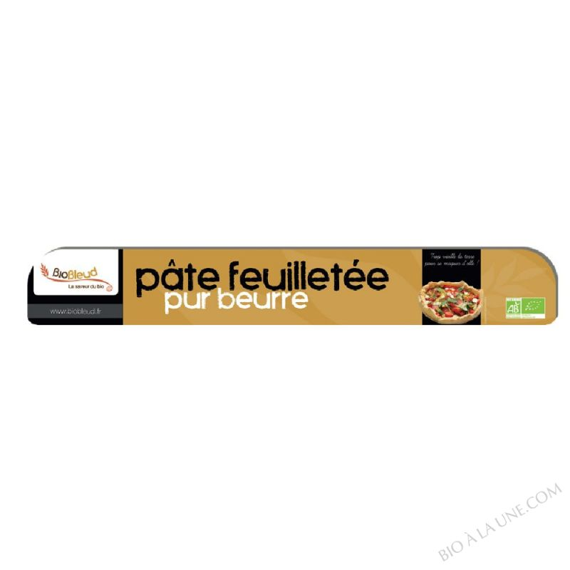 PATE FEUILLETE PUR BEURRE 250G