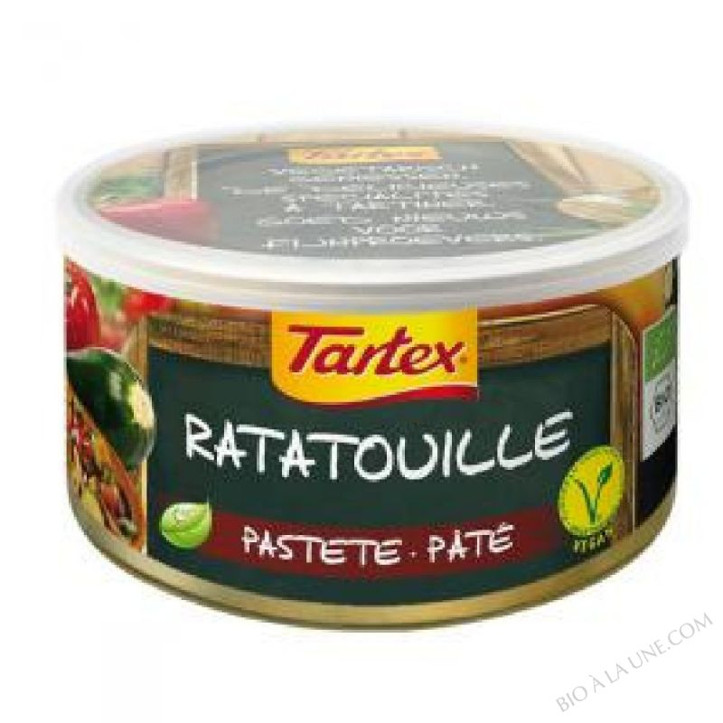 PATE VEGETAL RATATOUILLE 125G TARTEX