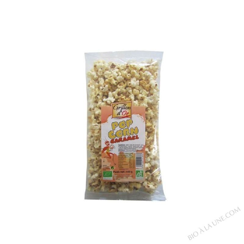 POP CORN AU CARAMEL 100G