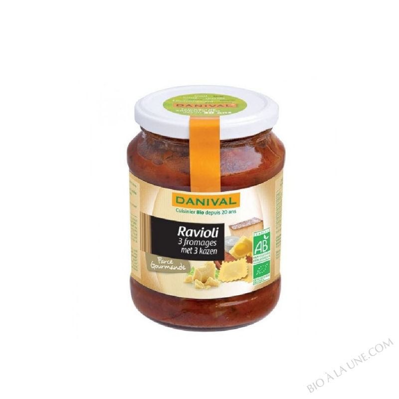 RAVIOLI TROIS FROMAGES 670G DANIVAL