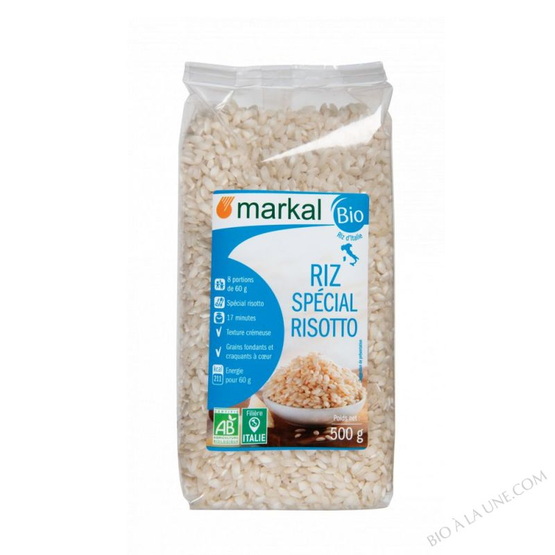 RIZ LONG BLANC SPECIAL RISOTTO Italie - 500g