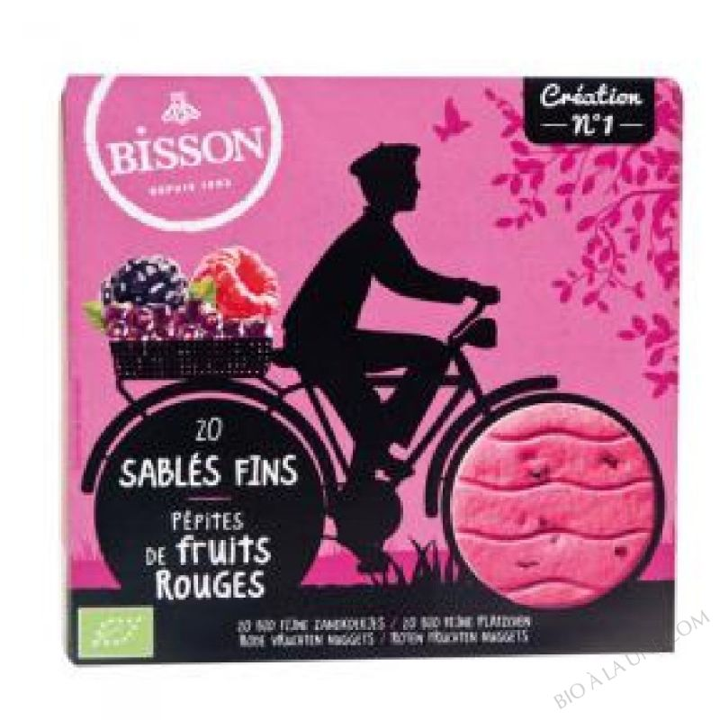 SABLE FRUITS ROUGES 118G BISSON