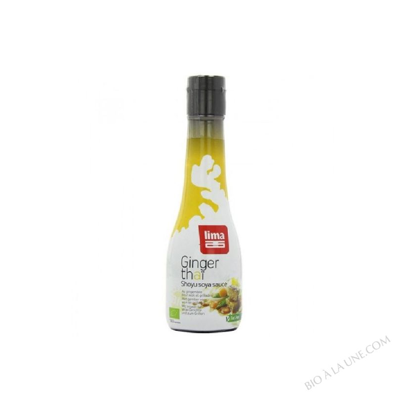 Sauce Soja Gingembre Thai 200ml