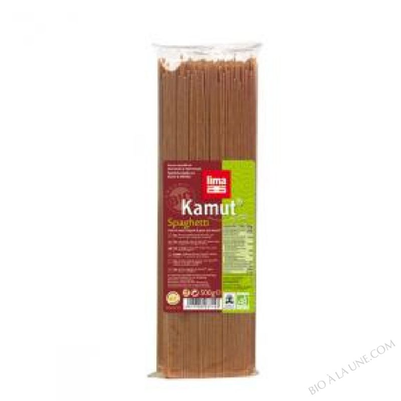 SPAGHETTI KAMUT COMPLET 500G LIMA