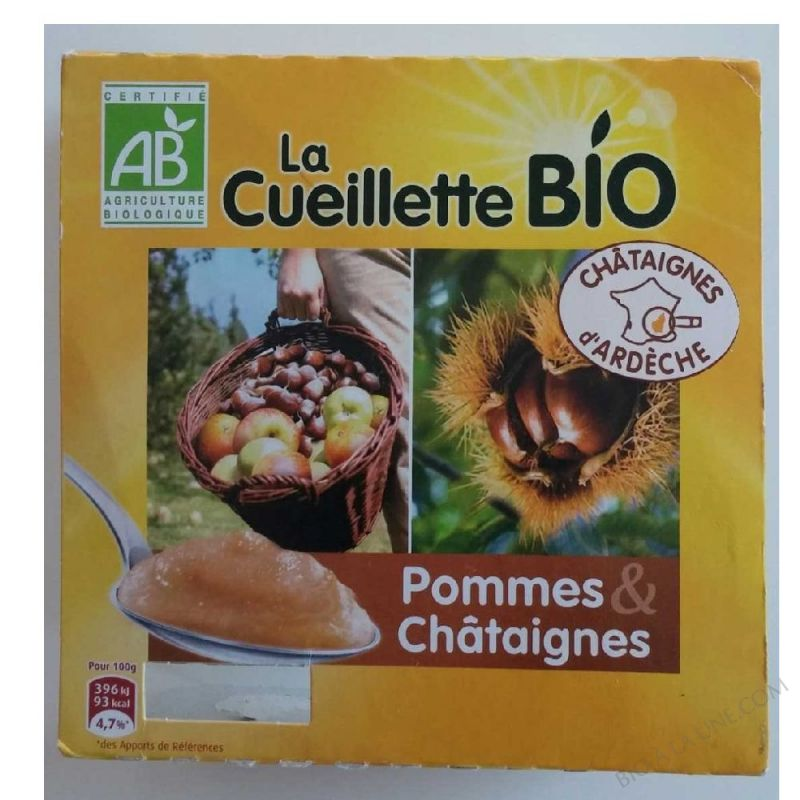SPECIALITE POMMES CHATAIGNES 4X95G