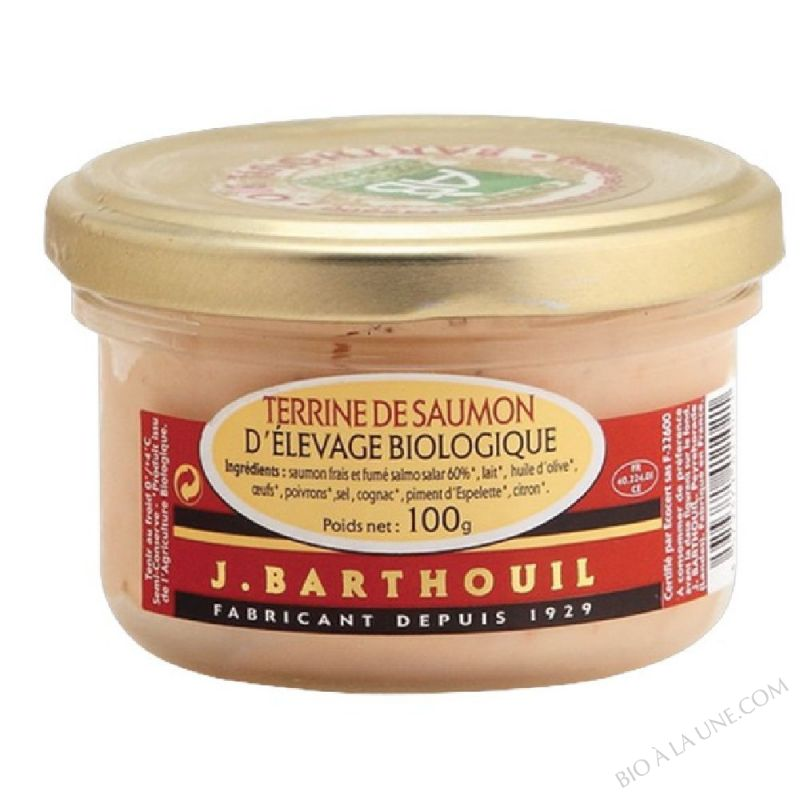 TERRINE DE SAUMON 100G ROSTAIN