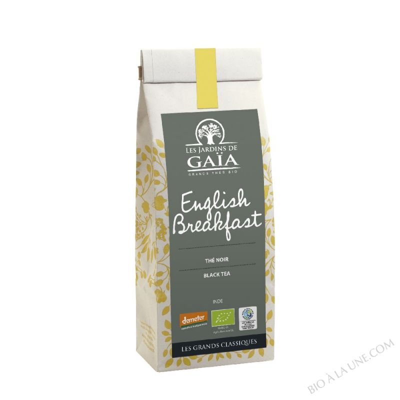 THE NOIR ENGLISH BREAKFAST 100G LES JARDINS DE GAIA