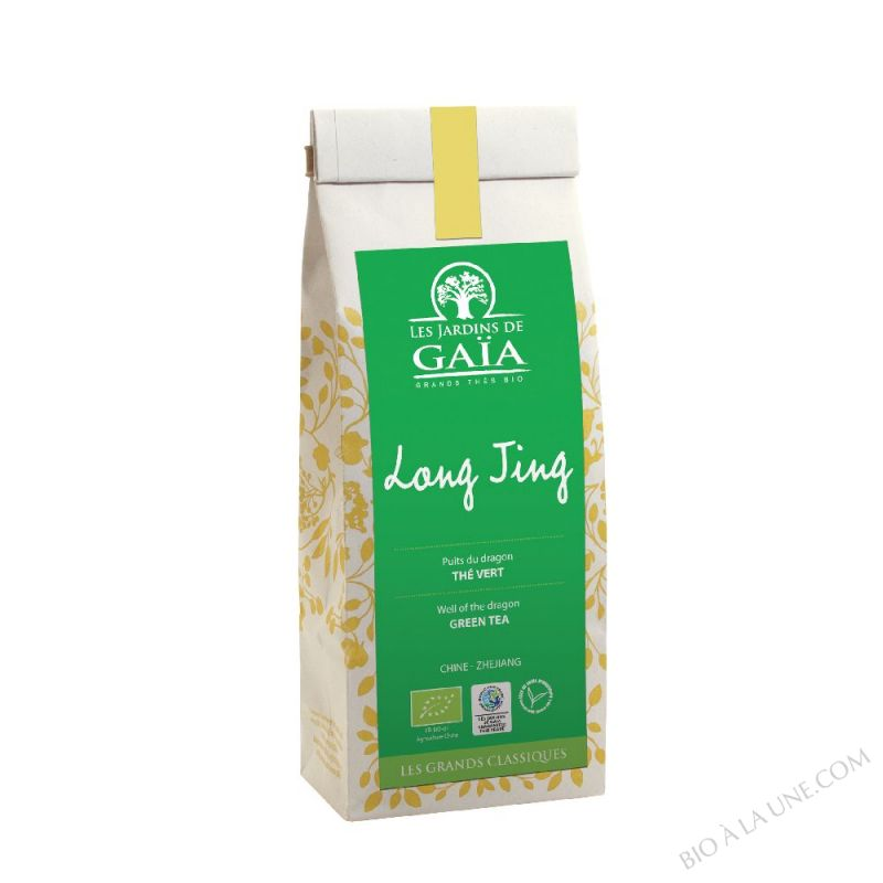 THE VERT CHINE LUNG CHING 100G LES JARDINS DE GAIA
