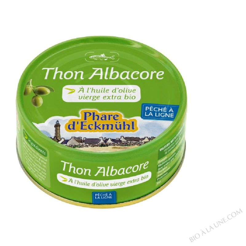 THON ALBACORE HUILE OLIVE *2 320G