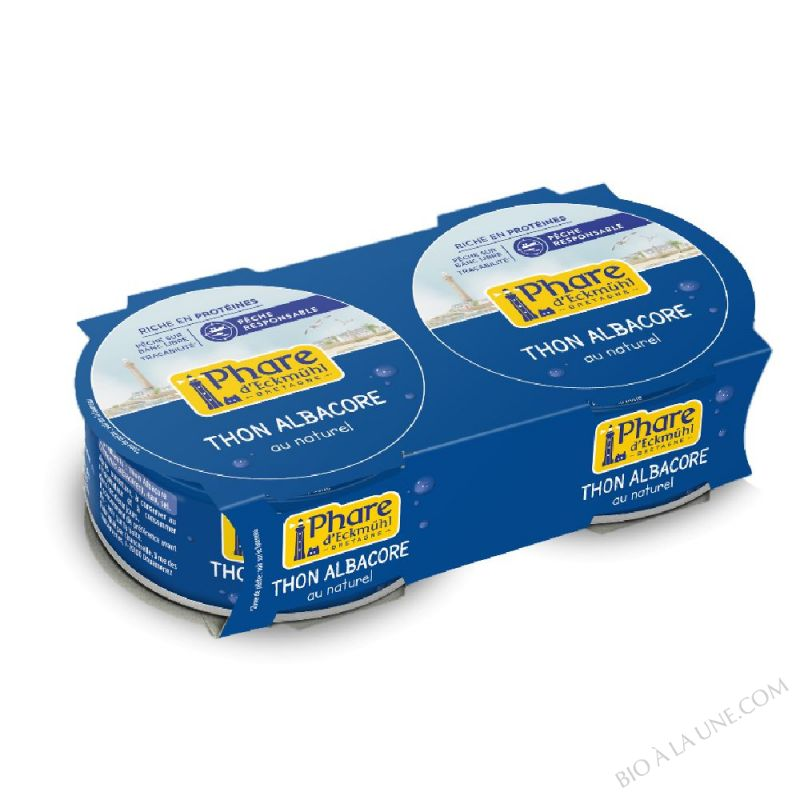 THON ALBACORE NATUREL DUO 2X160G