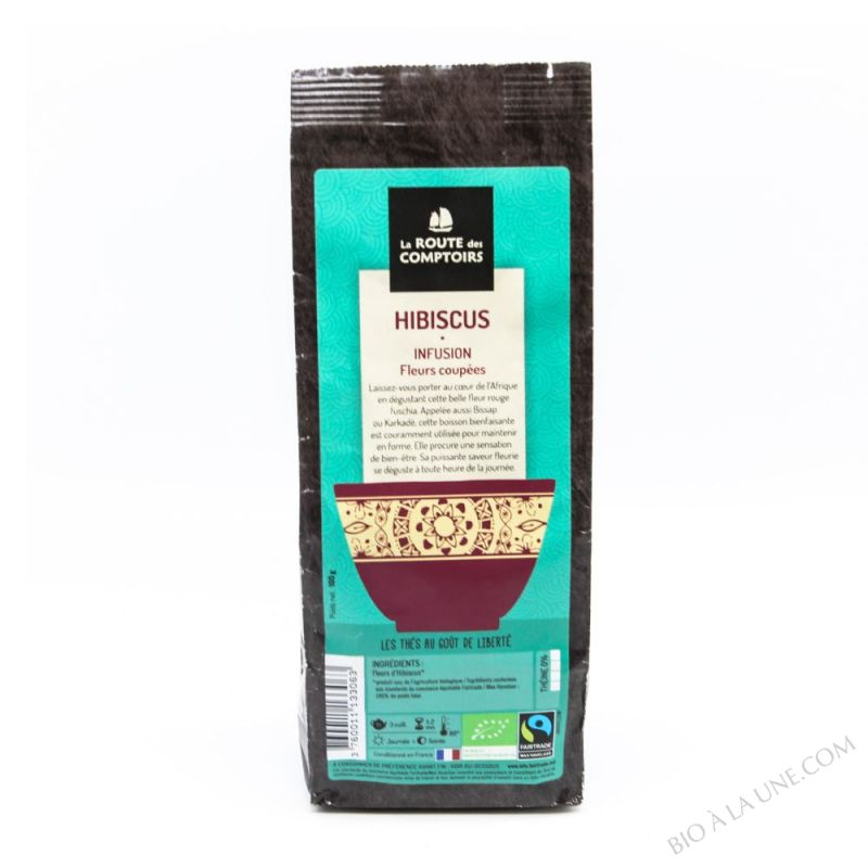 Tisane Fruits Hibiscus - 100g