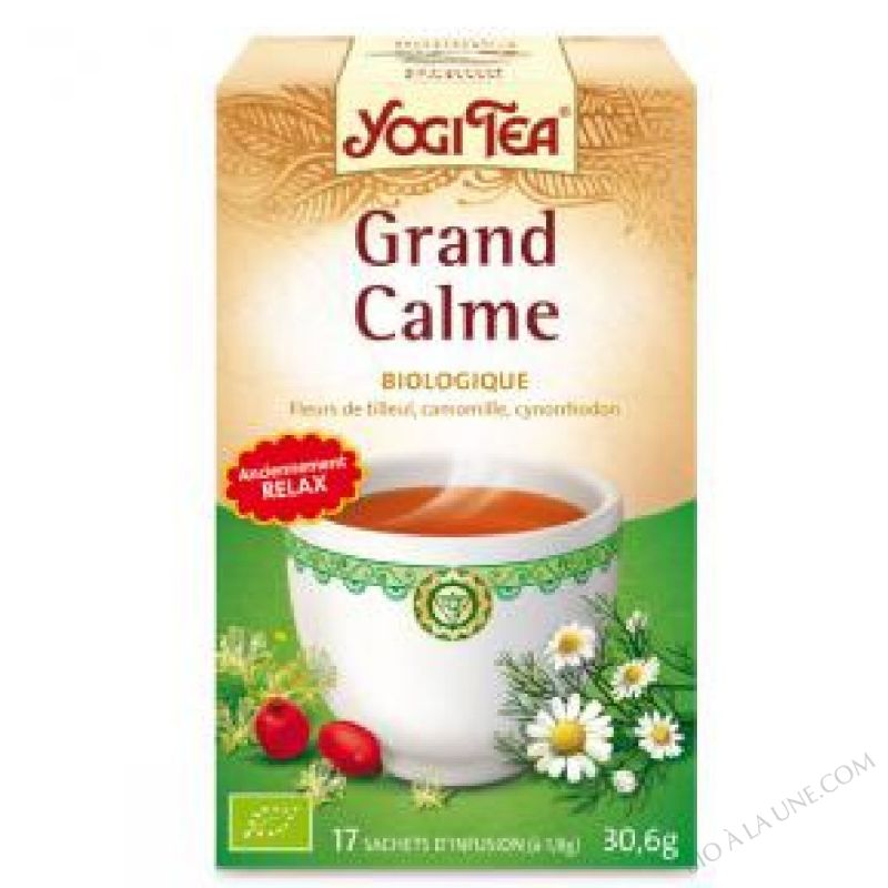 Infusion Relax Grand Calme 17 sachets