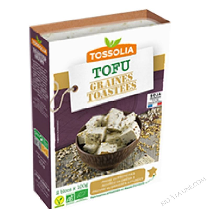 TOFU GRAINES TOASTEES 2X100G TOSSOLIA