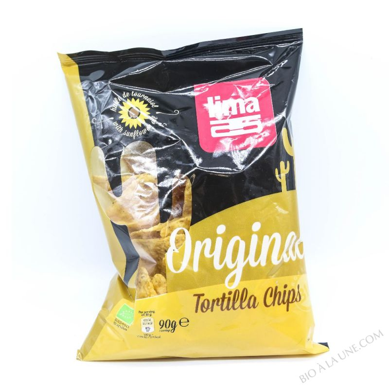 TORTILLA CHIPS ORIGINAL 90G LIMA