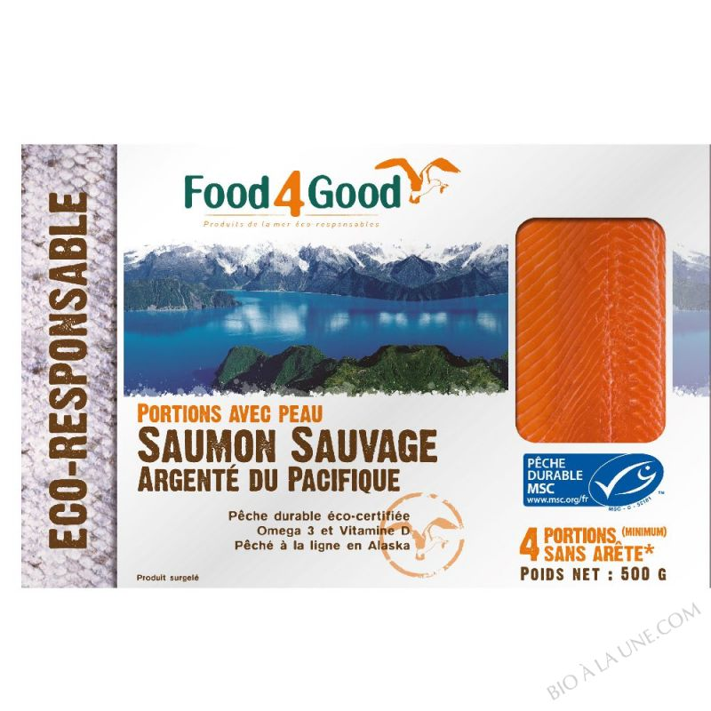 SAUMON MSC 500GR FOOD4GOOD