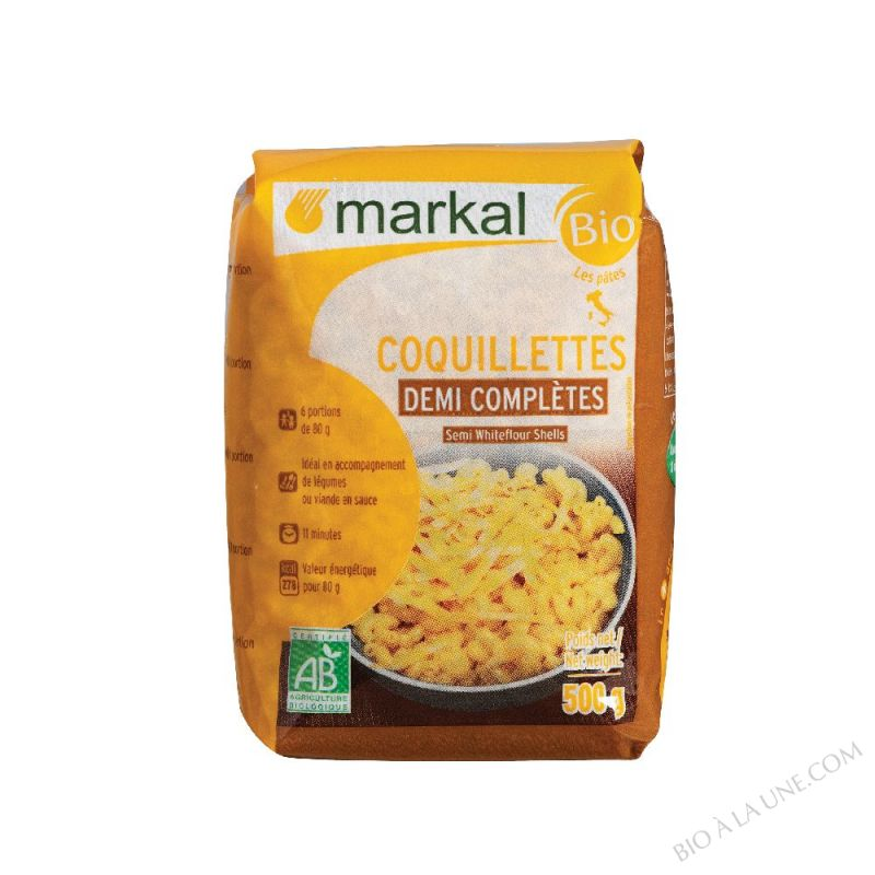 Coquillettes demi-completes 500g