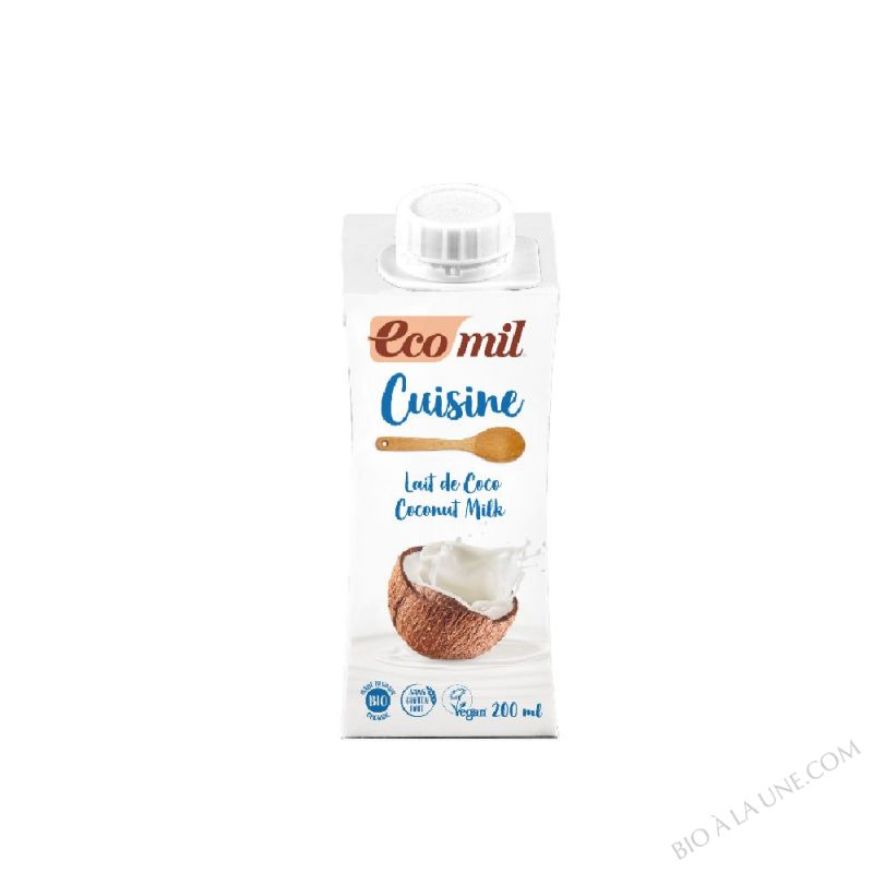 PREPARATION CUISINE LAIT DE COCO 200ML