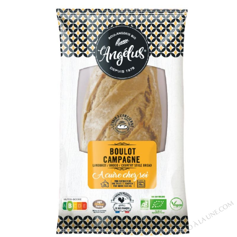 Boulot campagne precuit 460g