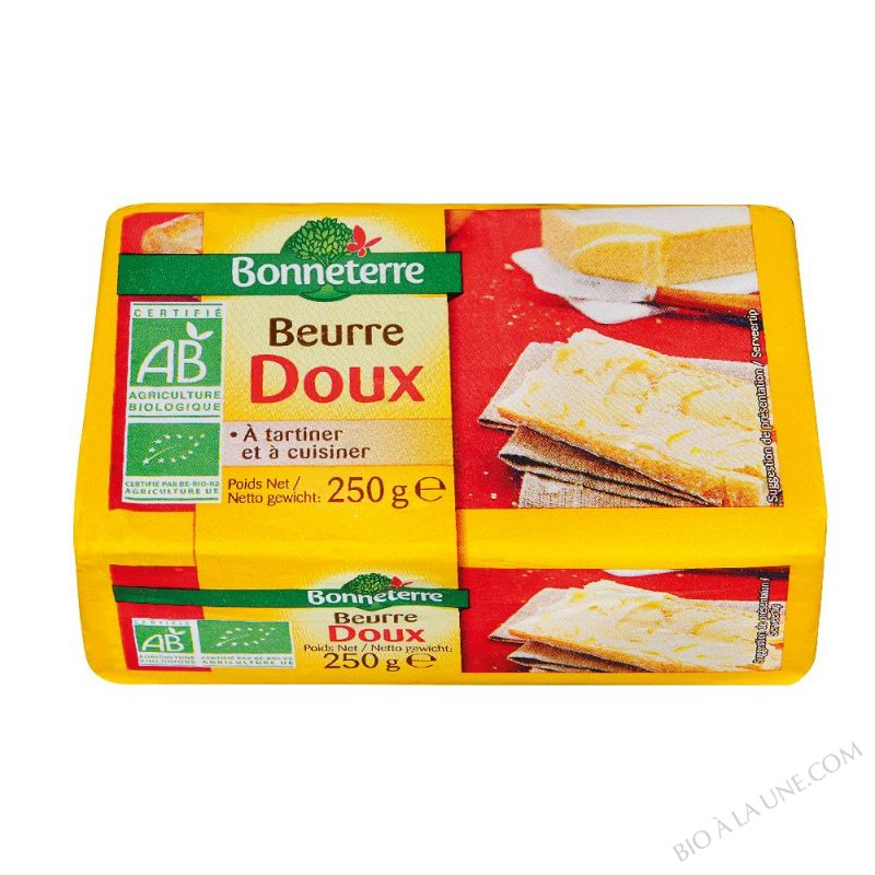 BEURRE DOUX (ORIGINE FRANCE) - 250G