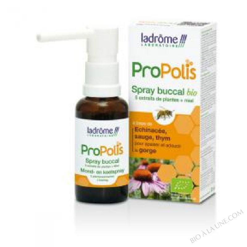spray buccal propolis +$sauge - 30 ml