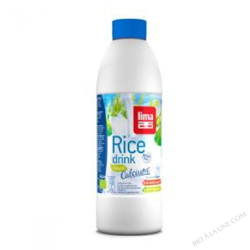 Lait de Riz Natural Calcium 1L