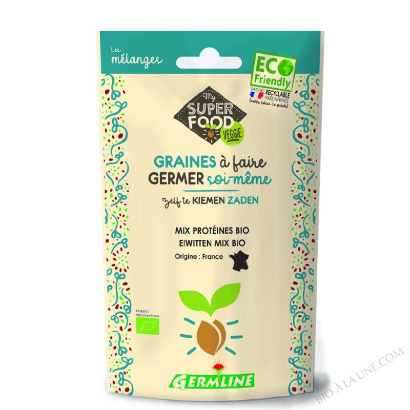 Mix protéines à germer 200g