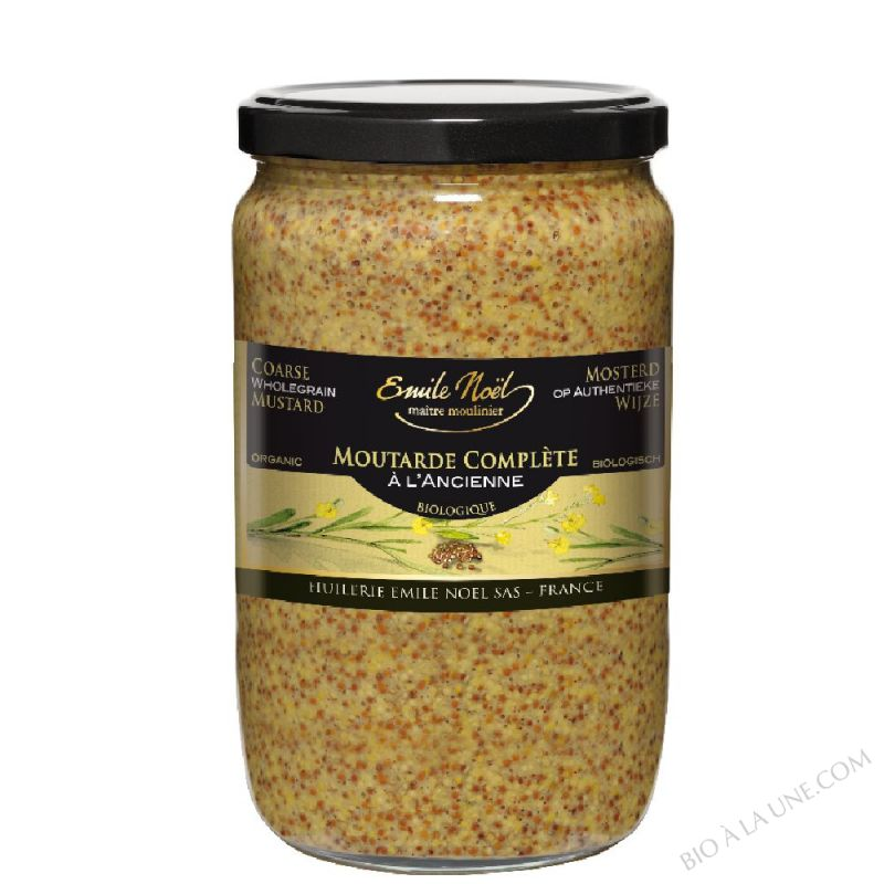 Moutarde à l'ancienne en grains BIO 700g