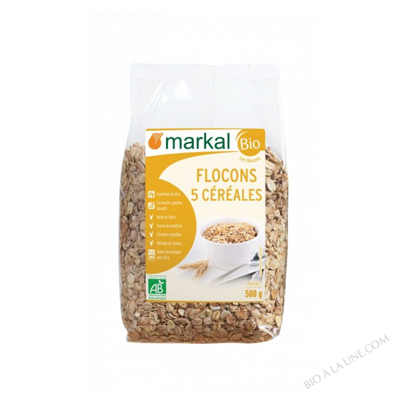 Flocons 5 Cereales 500g