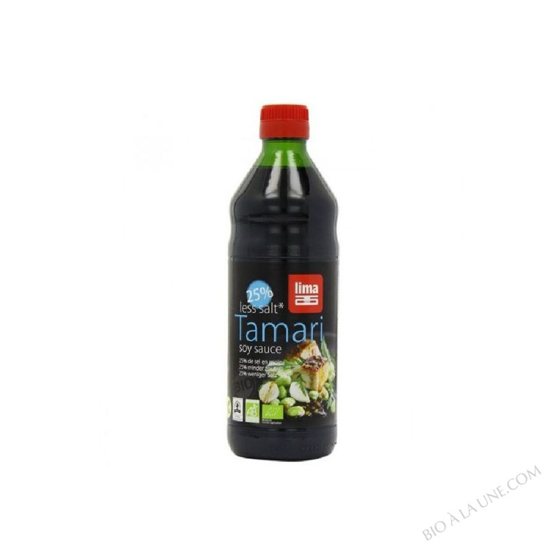 Tamari 25% less salt 250ml