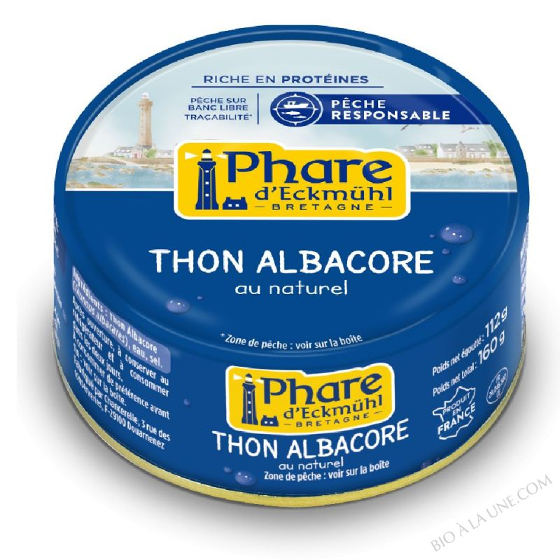 Thon au naturel 160g x 3 480g