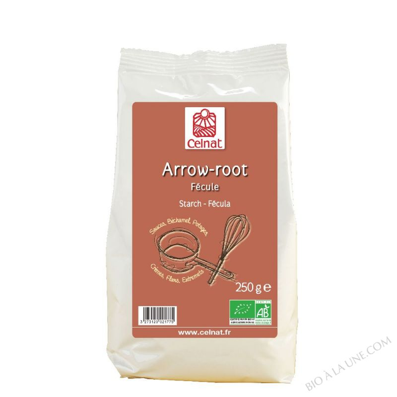 ARROWROOT BIO 250G CELNAT