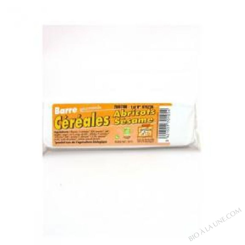 Barres Cereales Sesame Abricots BIO