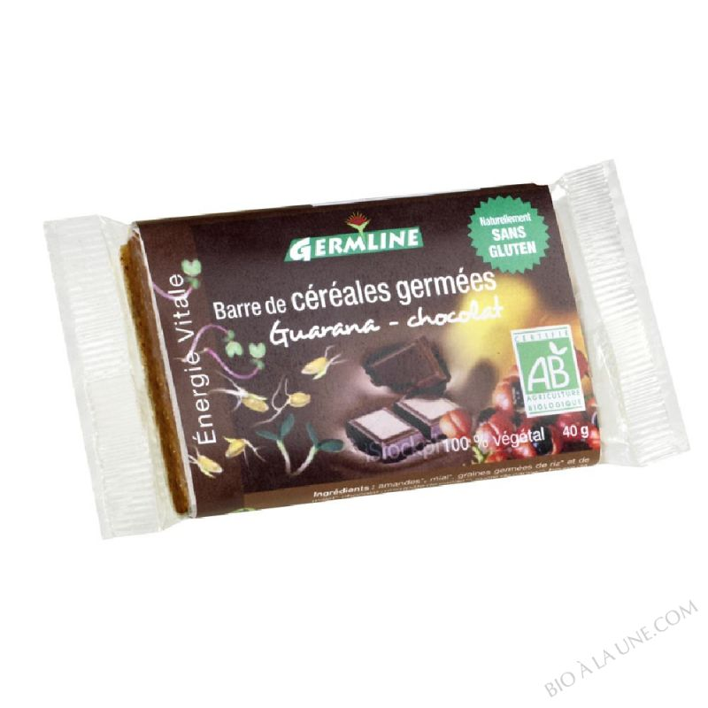 Barre de Cereales Germees Guarana Chocolat 40g
