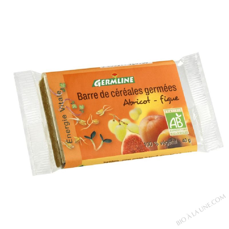 Barre de Cereales Germees Abricot Figues 40g