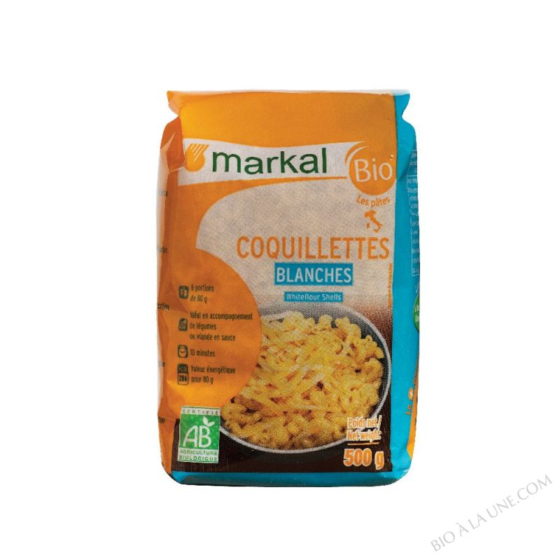 Coquillettes Blanches 500g