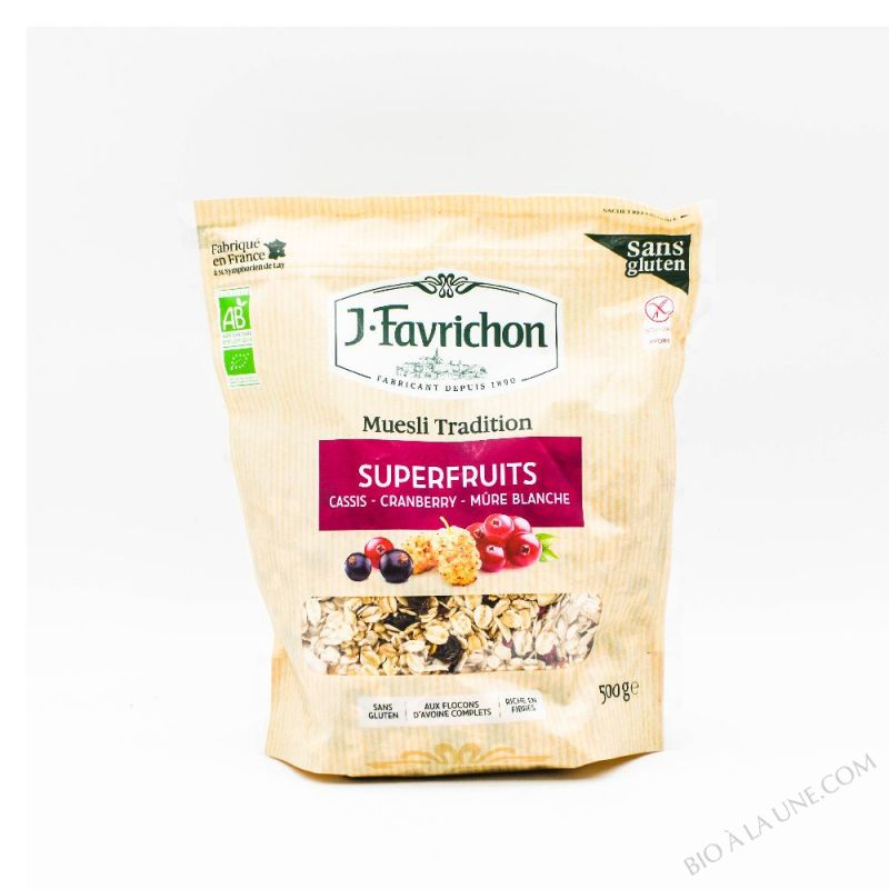 MUESLI TRADITION SUPERFRUITS - 500 g