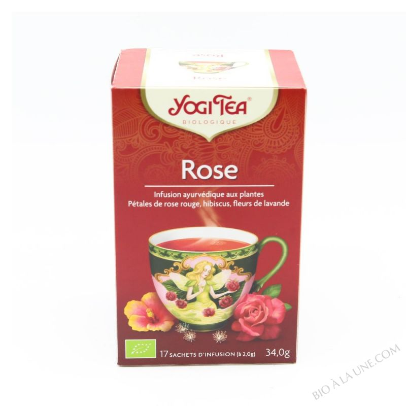 Infusion Rose x 17 sachets